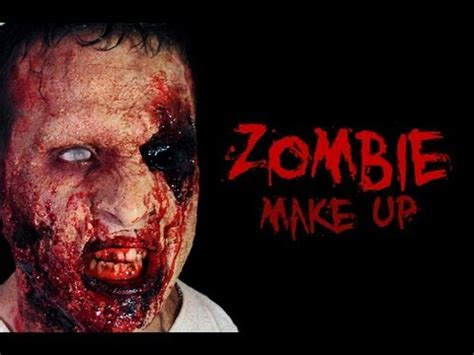 tutorial zombie uomo willwoosh two face make up tutorial doovi