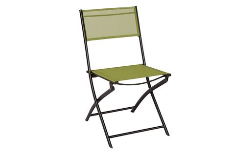 the home depot patio sling folding chair in green the