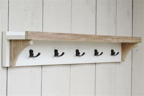 Garden Bench Box With Storage by Coat Rack With Shelf 5 Hooks Bliss And Bloom Ltd