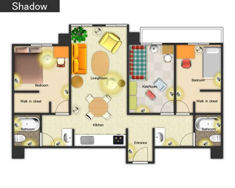 colored floor plans 3 bedroom house floor plan 3d 3d home floor plan designs