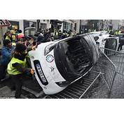 Fresh Violence In Paris As Riot Police Use Tear Gas And
