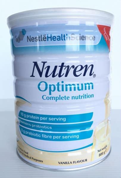 Nutren Optimum 800gram nutren optimum vanilla 800g