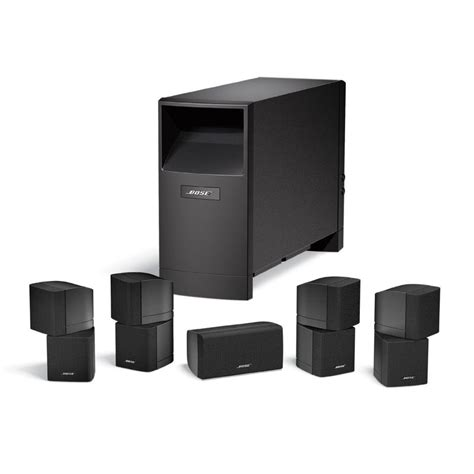 bose acoustimass  series  home theatre speaker system