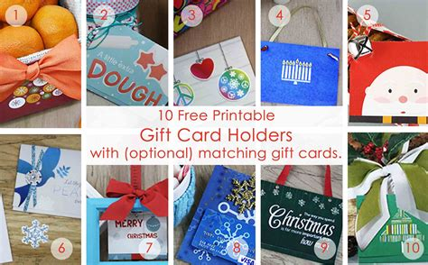 free templates for birthday gift card holders 50 printable gift card holders for the holidays gcg