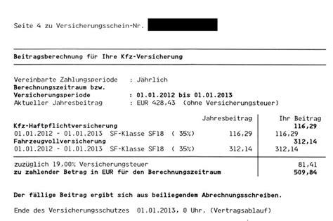 Kfz Versicherung Berechnen W Rttembergische by Meine Kfz Versicherung Kostet 2012 Wohnmobil Forum Seite 1