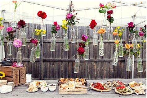 Diy Decorations Outside by Inspirasi Diy Dekorasi Wedding Outdoor