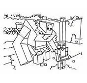 Coloriage Minecraft  20 Mod&232les &224 Imprimer Gratuitement
