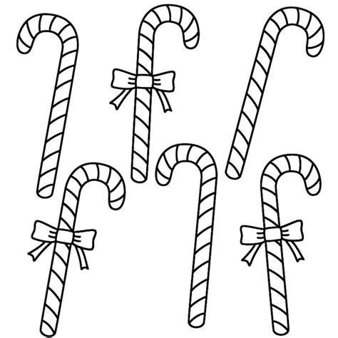 dibujos de navidad para colorear pdf dibujos para colorear bast 243 n de caramelo navide 241 o