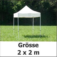 pavillon 2x2 x tent 2x2 m mit stahl gest 228 nge 30x30 mm proplana ag