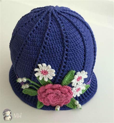 crochet gorros tejidos de gancho para nina sandalias tejidas a crochet gorro a crochet con flores para ni 241 as 161 patr 243 n gratis