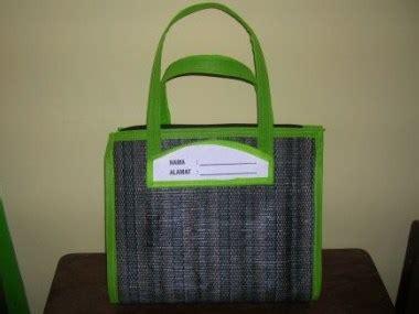 Tikar Lipat Dompet tas dan dompet kerajinan tenun pusat grosir lamongan