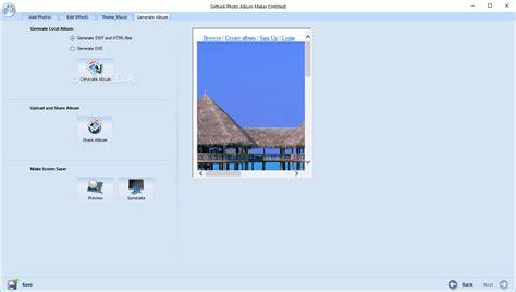 sothink photo album maker  build
