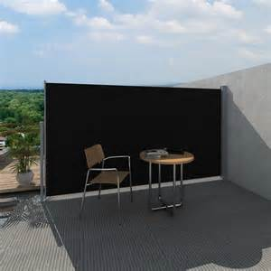 Patio Awnings With Side Screens New 160 180x300cm 4 Colours Retractable Patio Terrace
