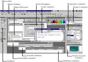 design menu in vb6 belajar program vb getting started with visual basic 6 0