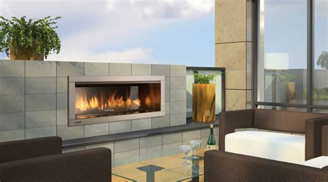 Exterior Gas Fireplace by Regency Horizon 174 Hzo42 Outdoor Gas Fireplace Portland