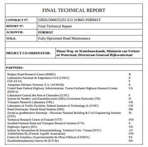 Technical Template technical report template 7 free documents in pdf word sle templates