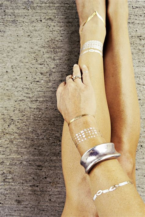 these temp tattoos might be the coolest summer accessory yet