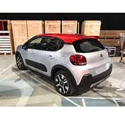 2017 Citroen C3 Rear Spotted  Indian Autos Blog
