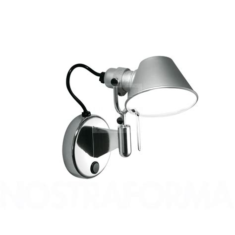 artemide applique artemide tolomeo micro faretto led applique murale