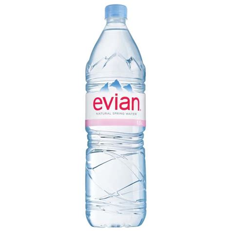 Teh Pucuk 1 5 Liter evian water 1 5 l plastic bottles pack of 12