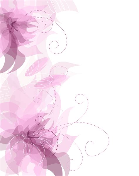 pink pattern background png cute pink floral decoration transparent png clipart