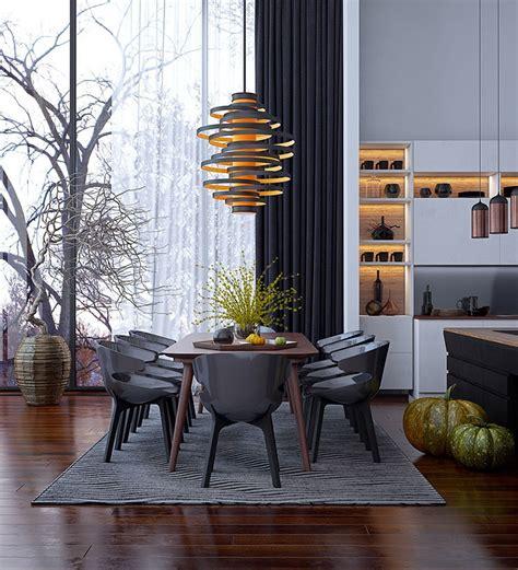 immagini sale da pranzo 30 idee per arredare una sala da pranzo moderna