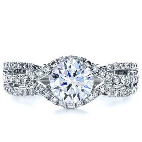 split shank engagement ring 1257