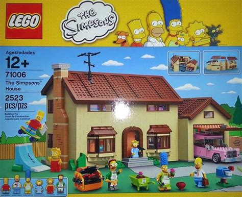 The Simpsons House by Simpsons Lego Set Announced For 2014 Inhabitat