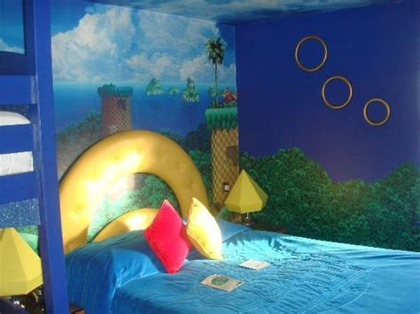 sonic the hedgehog bedroom inside hotel picture of alton towers hotel alton