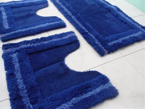 Rug Slip by Rug For Bathroom Blue Rug No Slip Rug Vintage Blue Rug