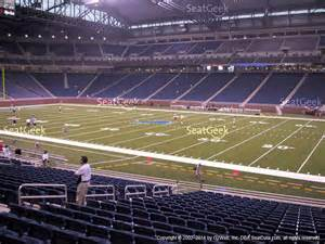 Ford Field Ford Field Section 103 Seat Views Seatgeek