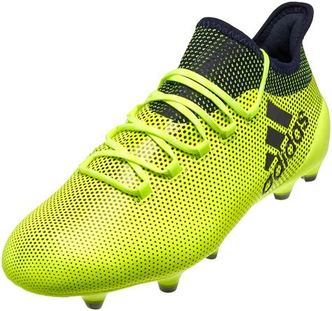 adidas x 17 1 adidas x 17 1 fg soccer cleats solar yellow legend ink