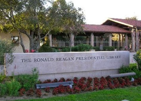 ronald presidential library and museum ca things to do
