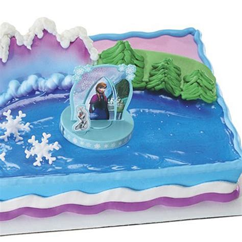 Decorating Frozen Cake by Disney Frozen Cake Decorating Kit 4 Pieces Dollar Carousel Disney Frozen Supplies