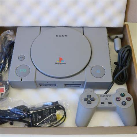 psone console original grey sony ps1 playstation one 1 psone