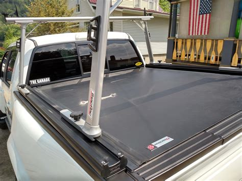 Ladder Racks For Trucks With Tonneau Cover by Revolverx2 Rolling Tonneau Cover Tracrac Sr Truck