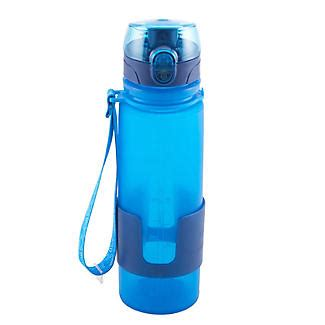 Promo Silicone Water Bottle 500 Ml 1 Silicone Water Bottle 500ml Blue Lakeland