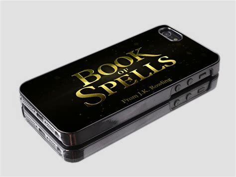 Harry Potter The Boy Who Loved Hardcase Iphonecase Dan Semua Hp book of spells harry potter iphone and samsung galaxy on luulla