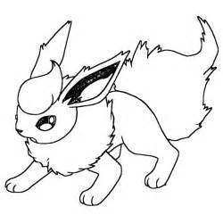 Back &gt Gallery For Pokemon Coloring Pages Flareon Sketch Page sketch template