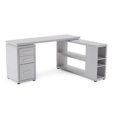 Grey L Shaped Desk Hudson L Shaped Desk Gray Desks At Hayneedle Benecki Office Gray Desk