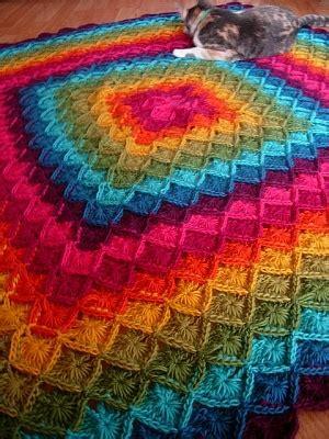 yarn eater pattern crochet pattern wool eater blanket rainbows love