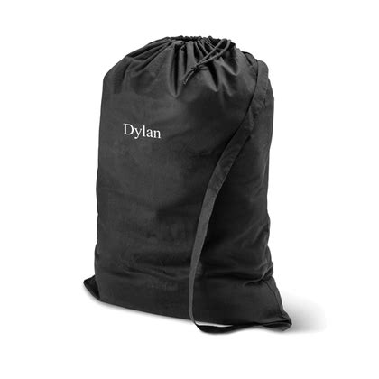 personalized laundry personalized laundry bag