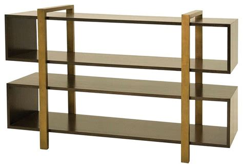 Low Bookcases And Shelves Metropolitan Low Bookcase Contemporary Bookcases New