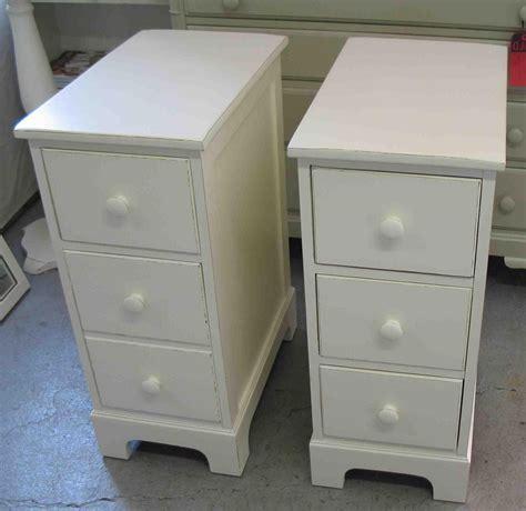 Bedroom: Appealing Narrow Nightstand For Bedroom Furniture