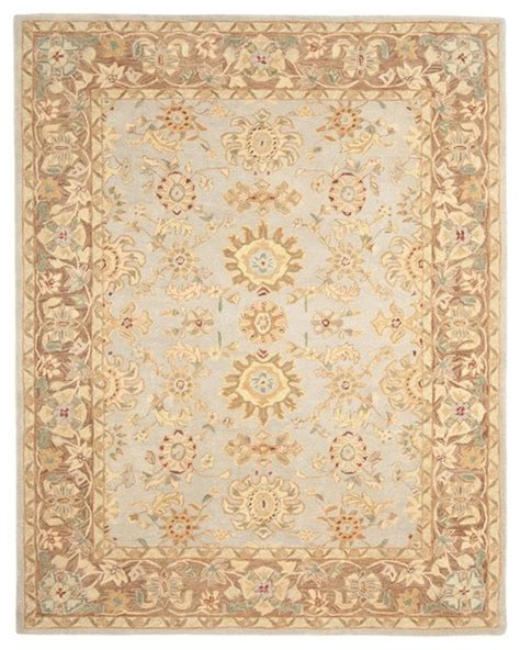 Rectangle Area Rugs by Traditional Anatolia 9 6 Quot X13 6 Quot Rectangle Teal Brown Area