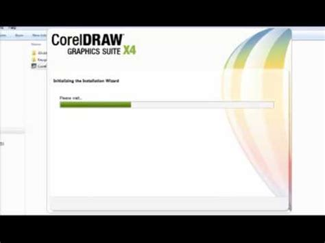 corel draw x4 has stopped working installation corel draw x4 youtube