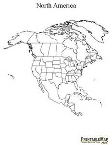 printable map of america continent map of