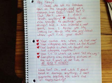viral breakup letter viral breakup letter scavenger hunt up