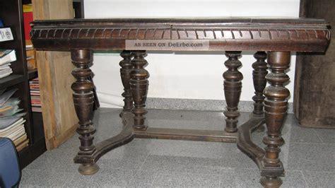antiker esstisch ausziehbar massiver antiker e 223 tisch ausziehbar gr 252 nderzeit um 1900