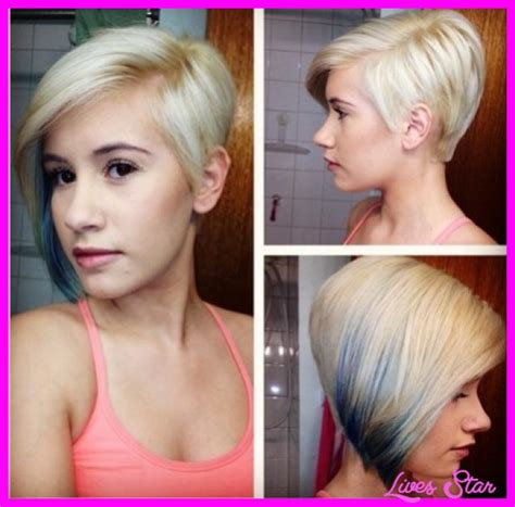 back of short asymetrical haircuts pictures of short asymmetrical hairstyles livesstar com